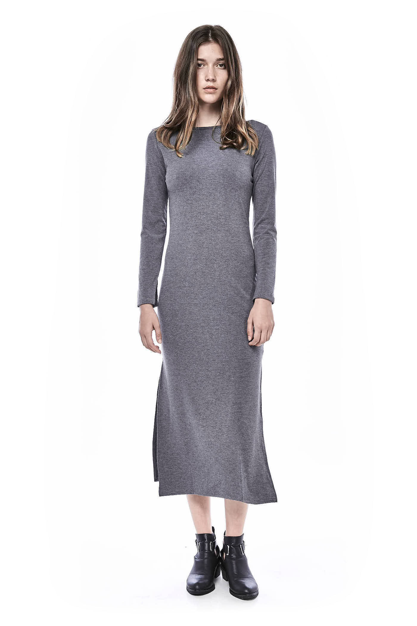 Tiffanie Long-sleeve Jersey Dress