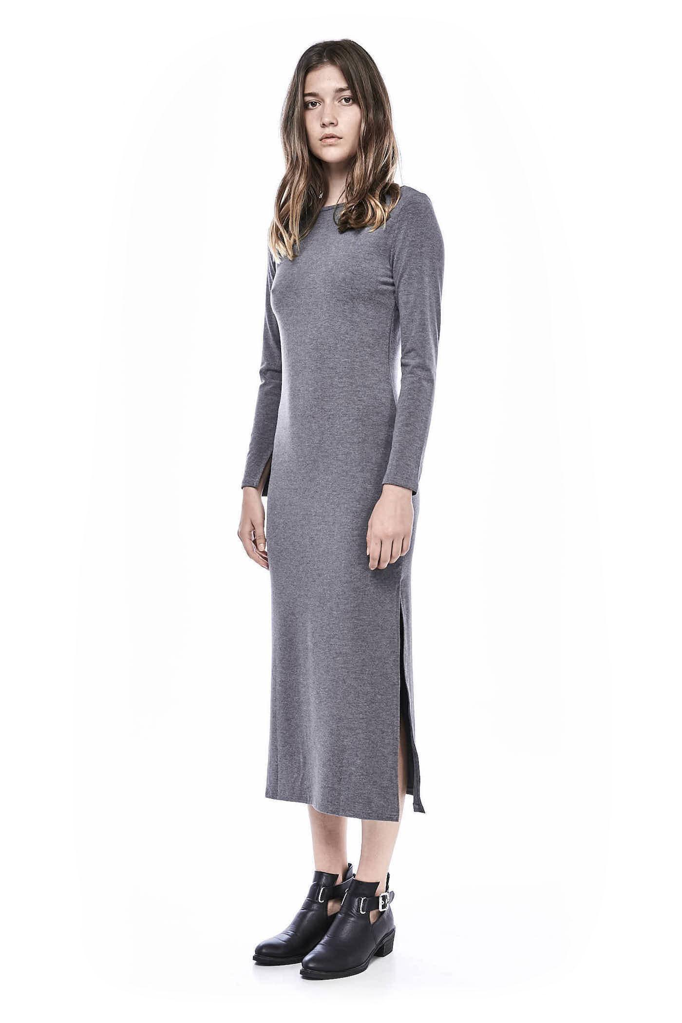 Tiffanie Long-sleeve Jersey Dress