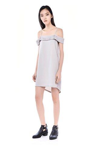 Nettia Cold-shoulder Dress