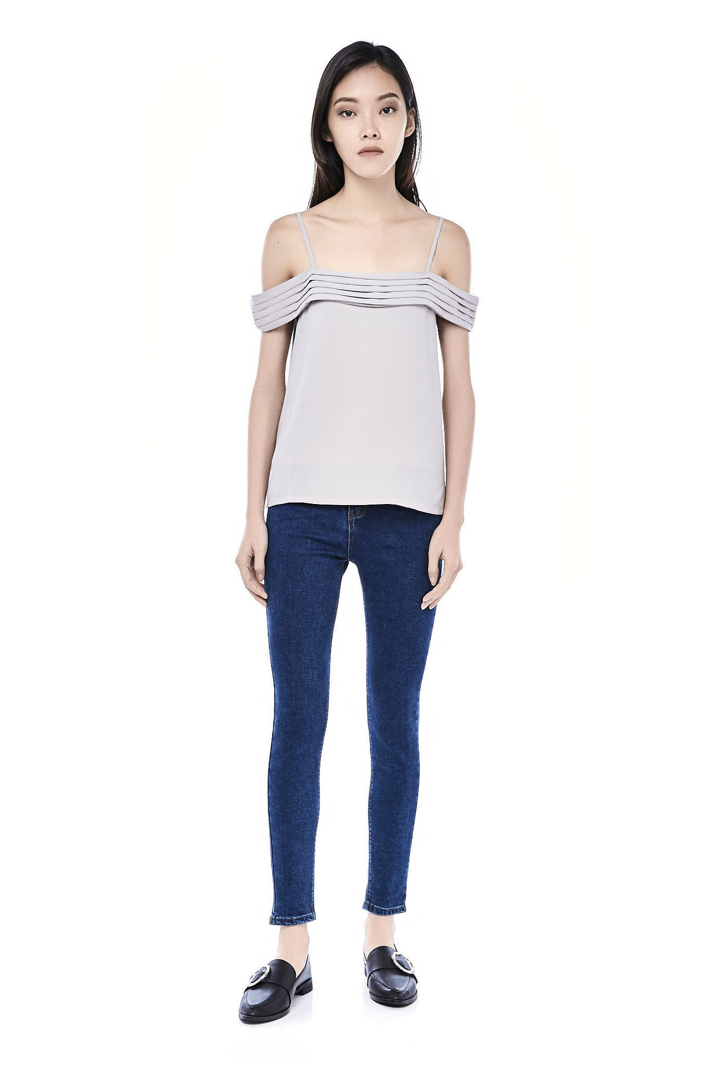 Lorice Cold-shoulder Top