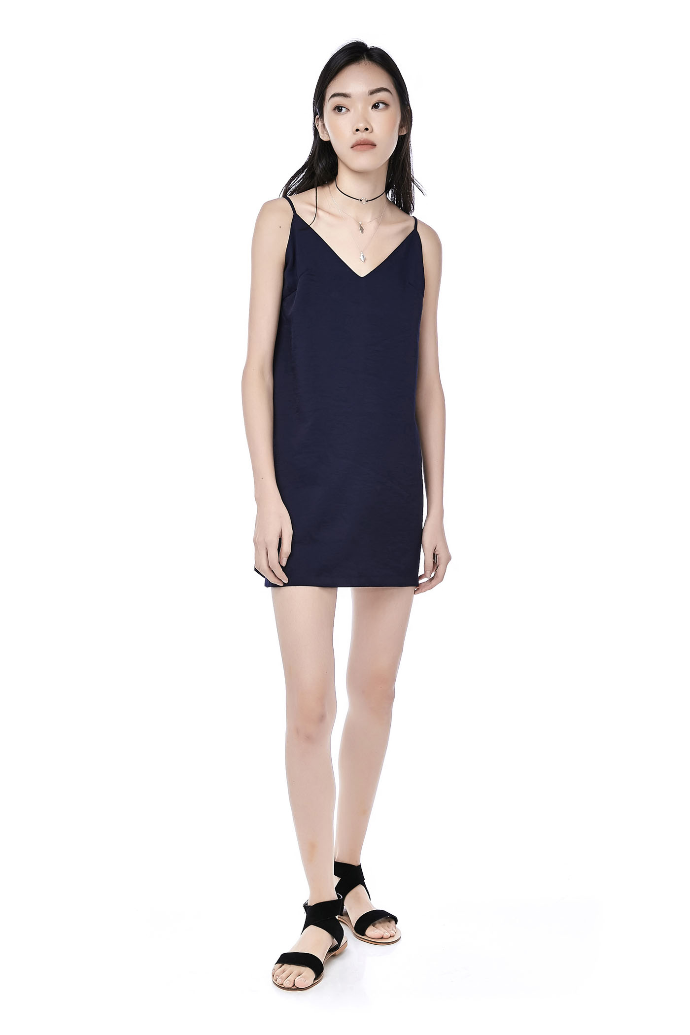 6fe35c326bca Jerlyn Back-Tie Slip Dress | The Editor's Market
