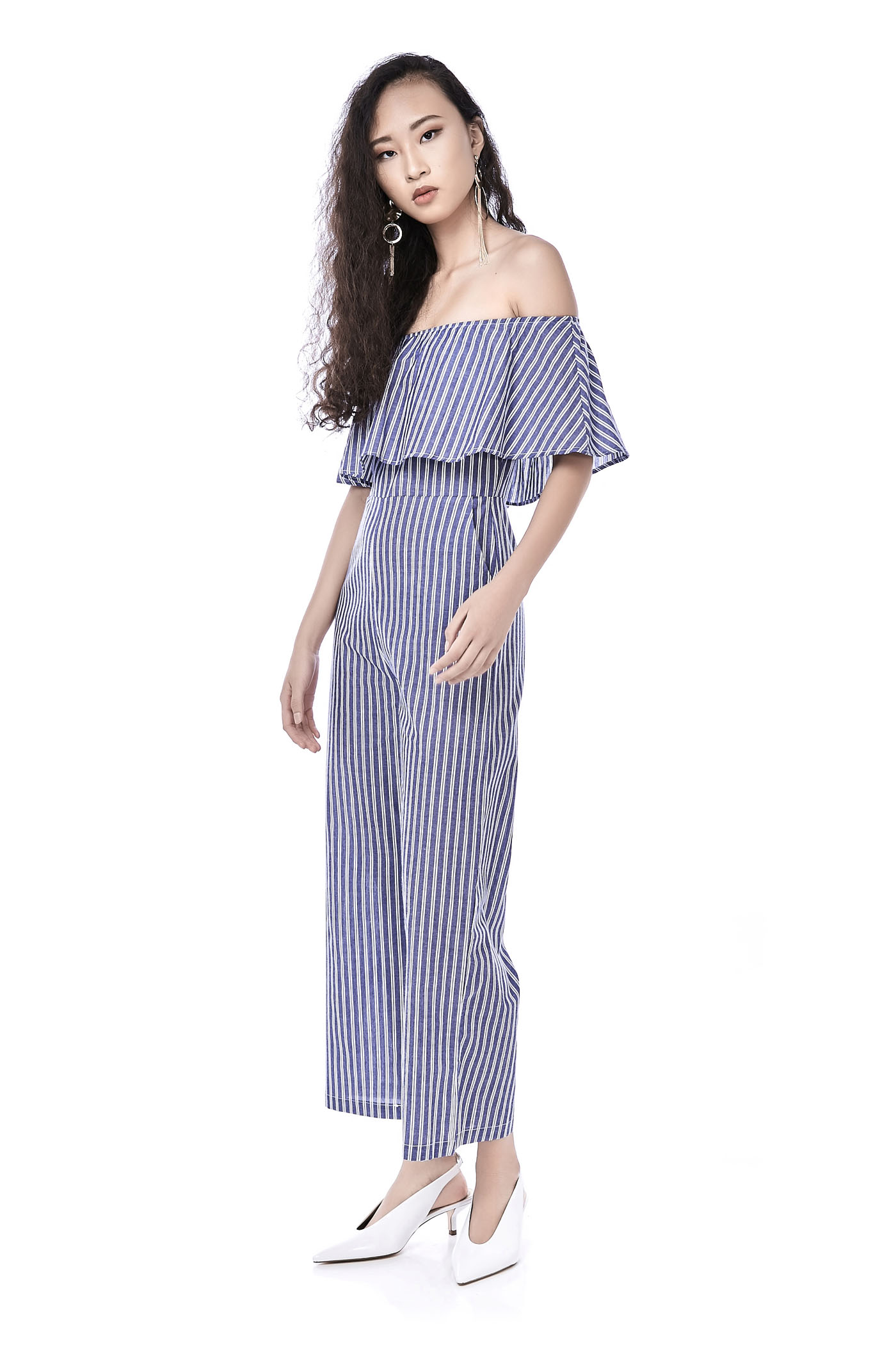 ae1c6c4eb214 Nazrya Off-Shoulder Jumpsuit