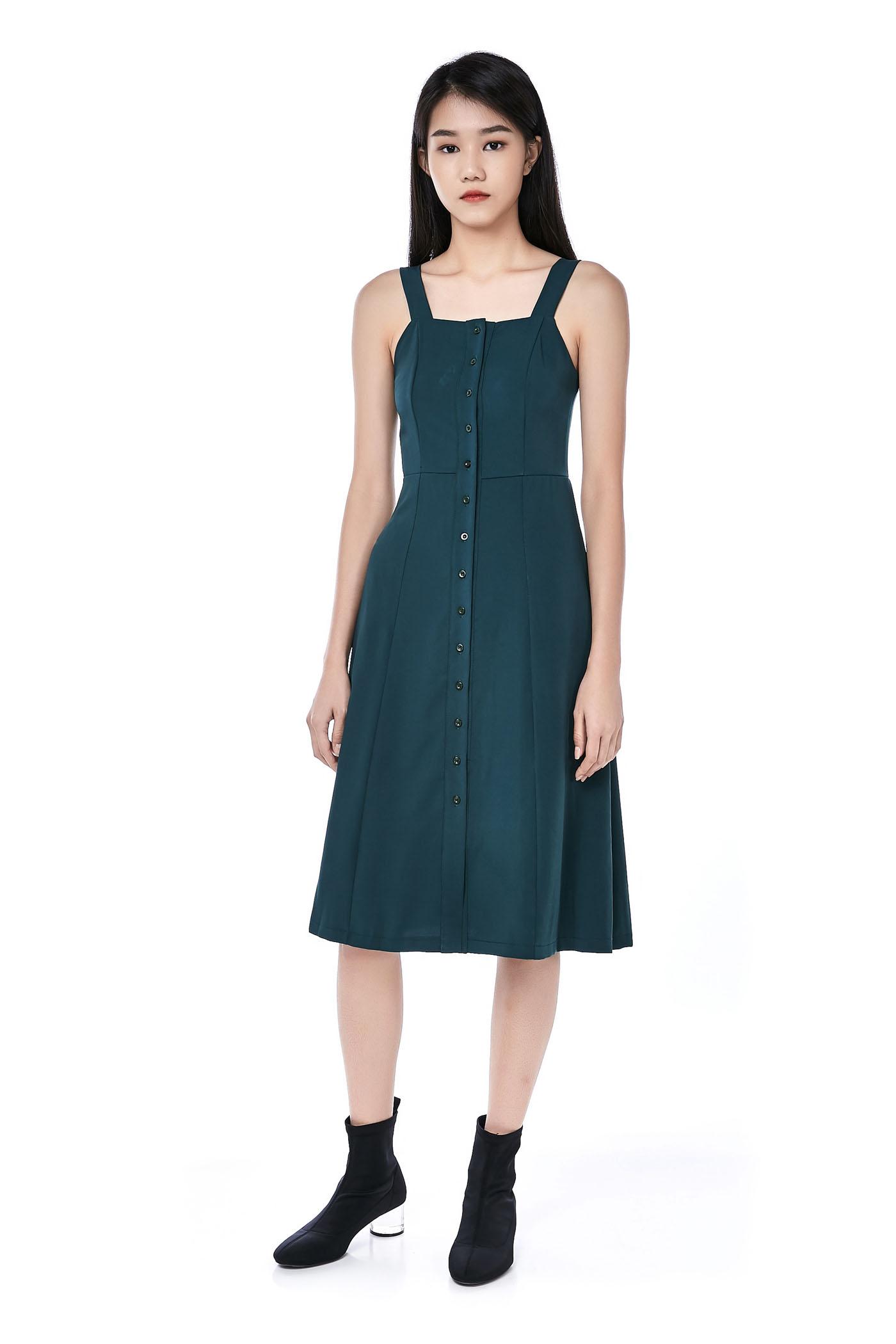 dde8290636f1 Nichee Button-Down Midi Dress