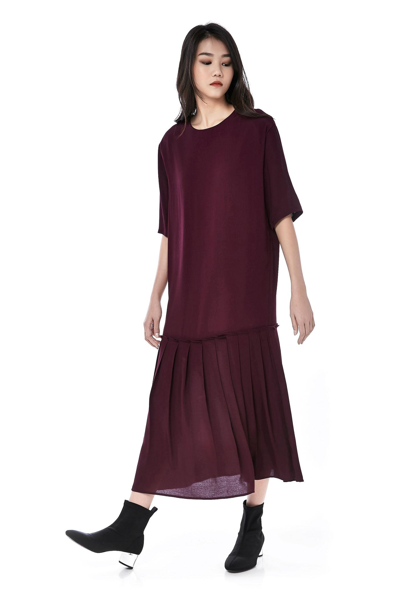 Variana Drop-waist Maxi Dress