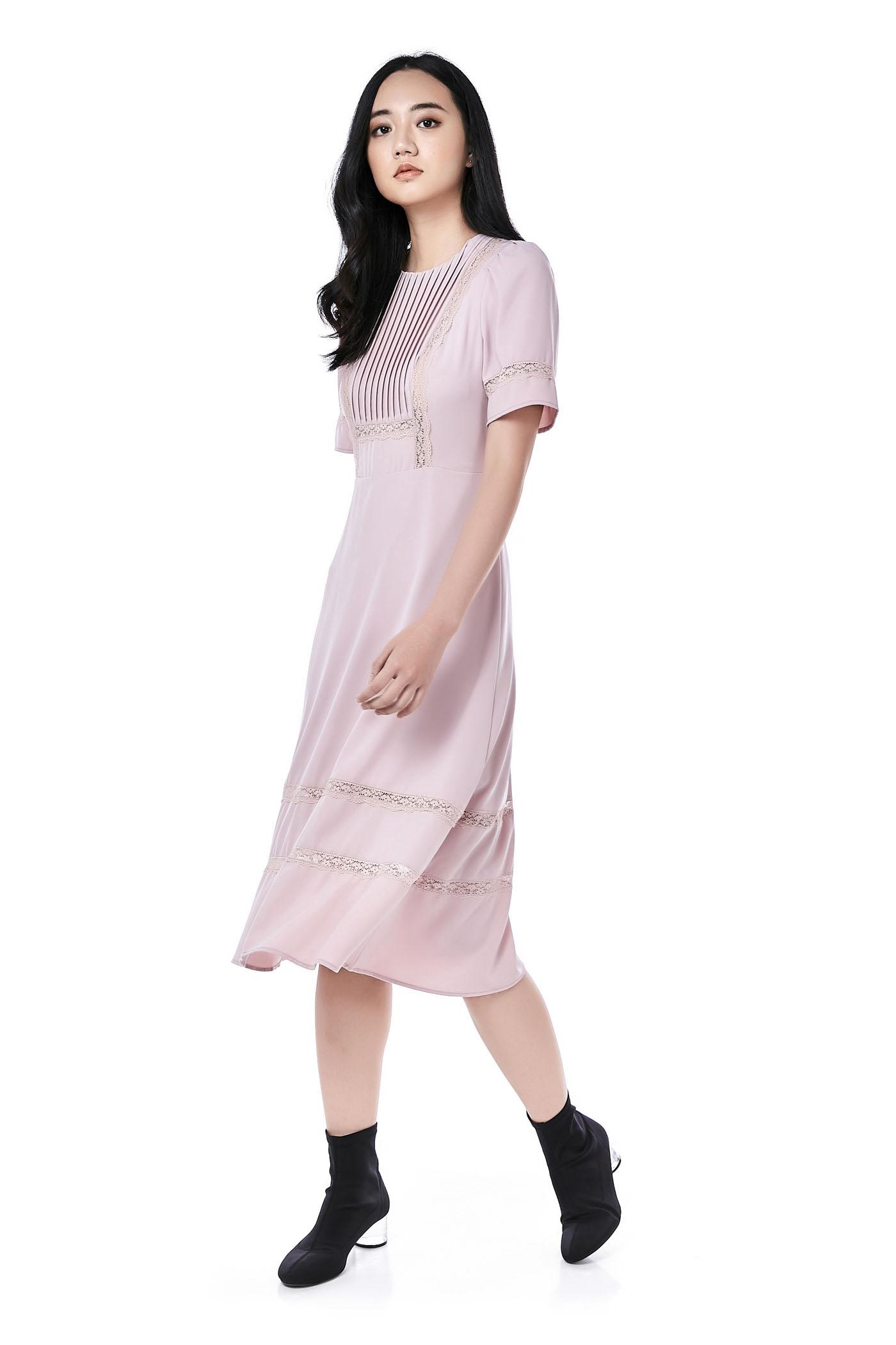 Madeline Bib Maxi Dress