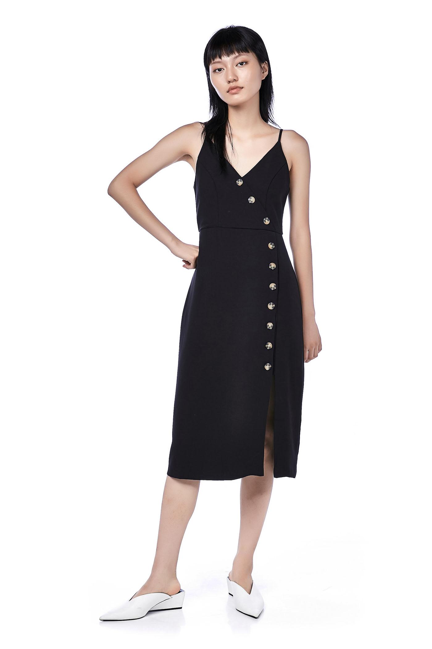 a67e57ff04 Miraya Button-Down Midi Dress