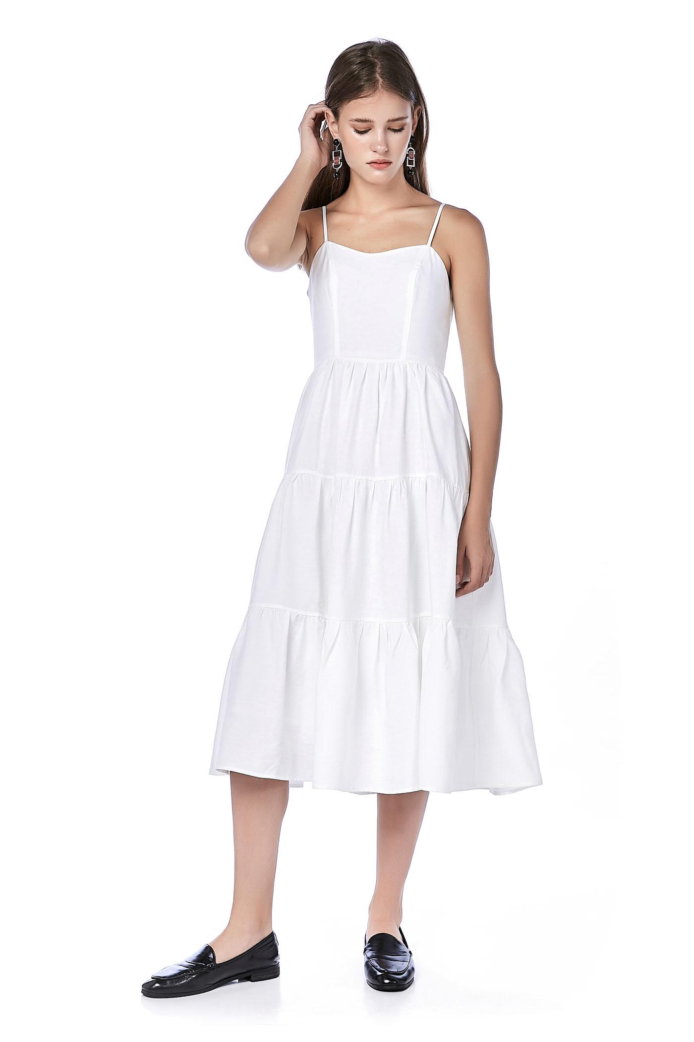 White Midi Dresses