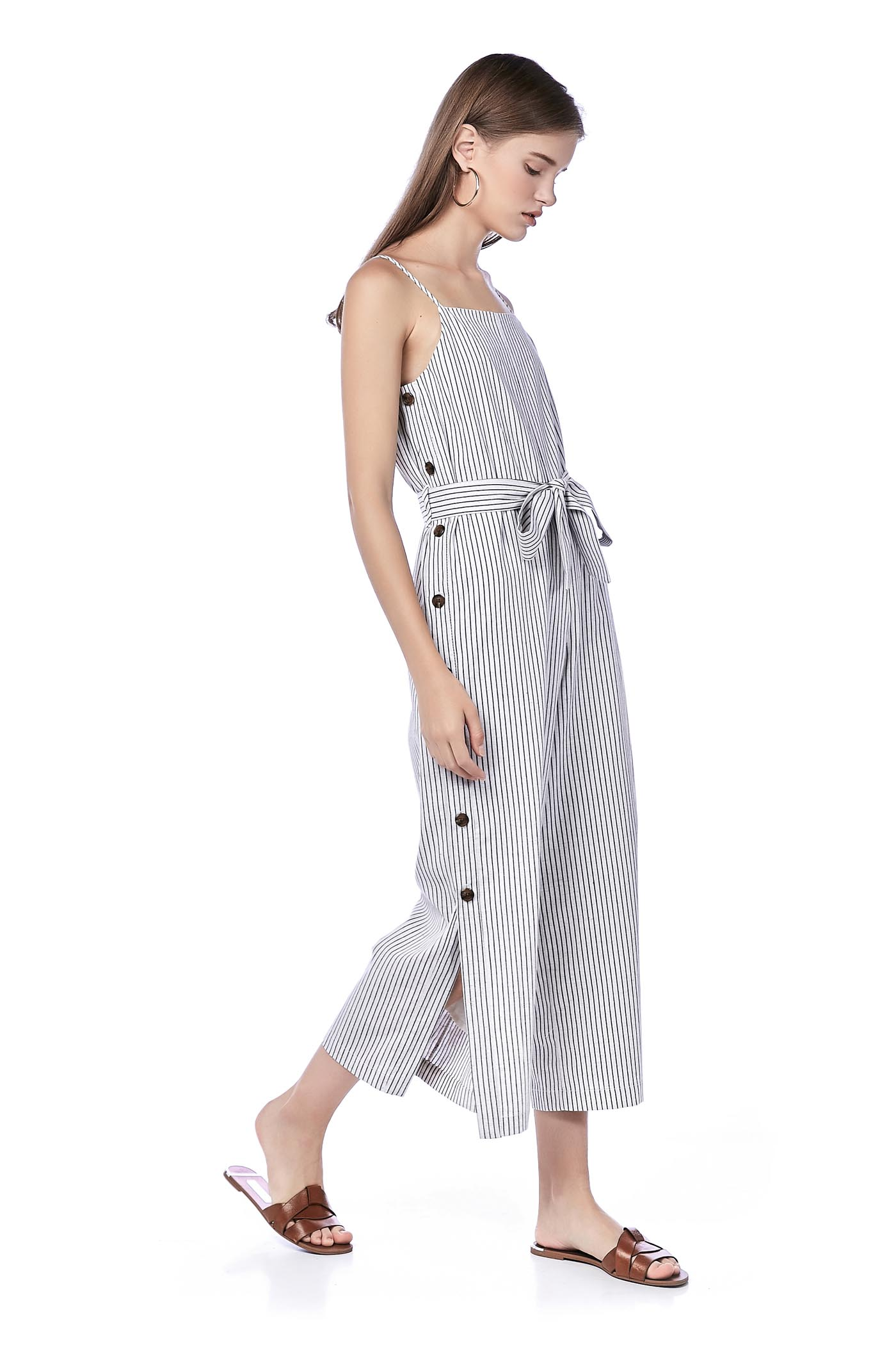 6c3c5e601db2 Eleena Side-Button Jumpsuit