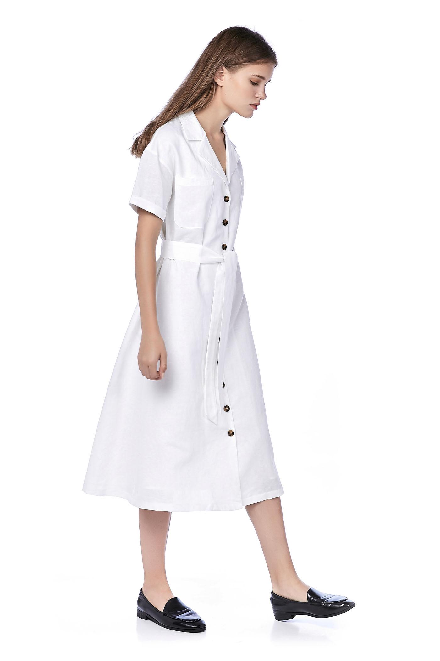 7afffe38c0 Cece Button-Through Shirt Dress