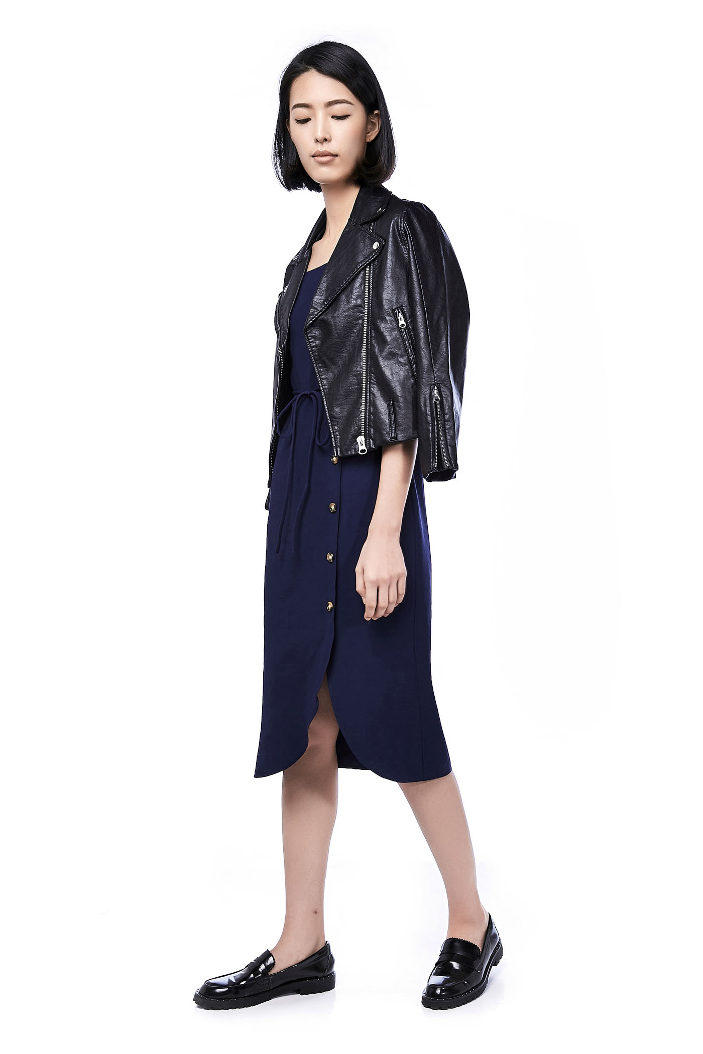 b18fcad4dc Estelle Bib Midi Dress