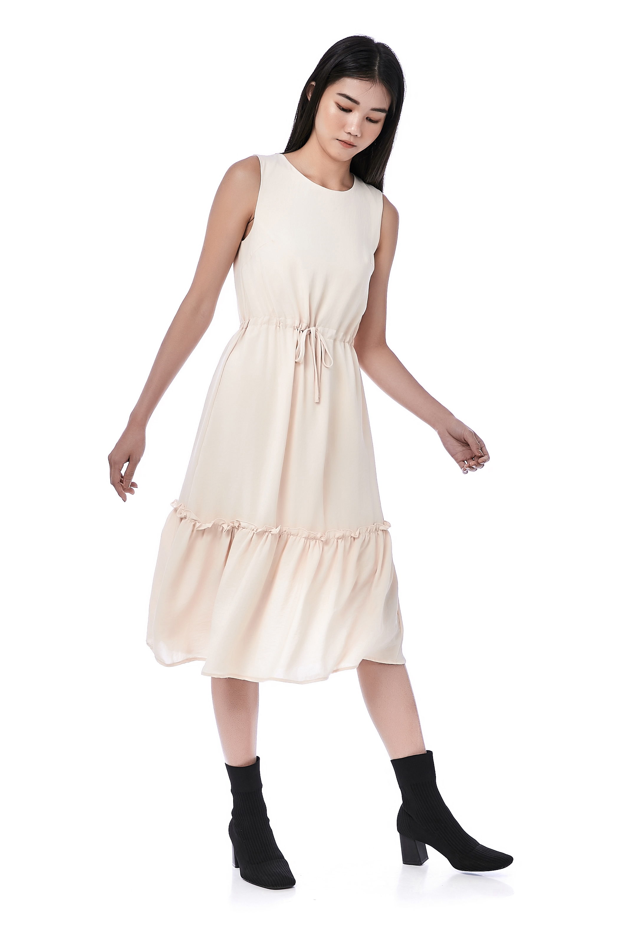 Rae Drawstring Dress