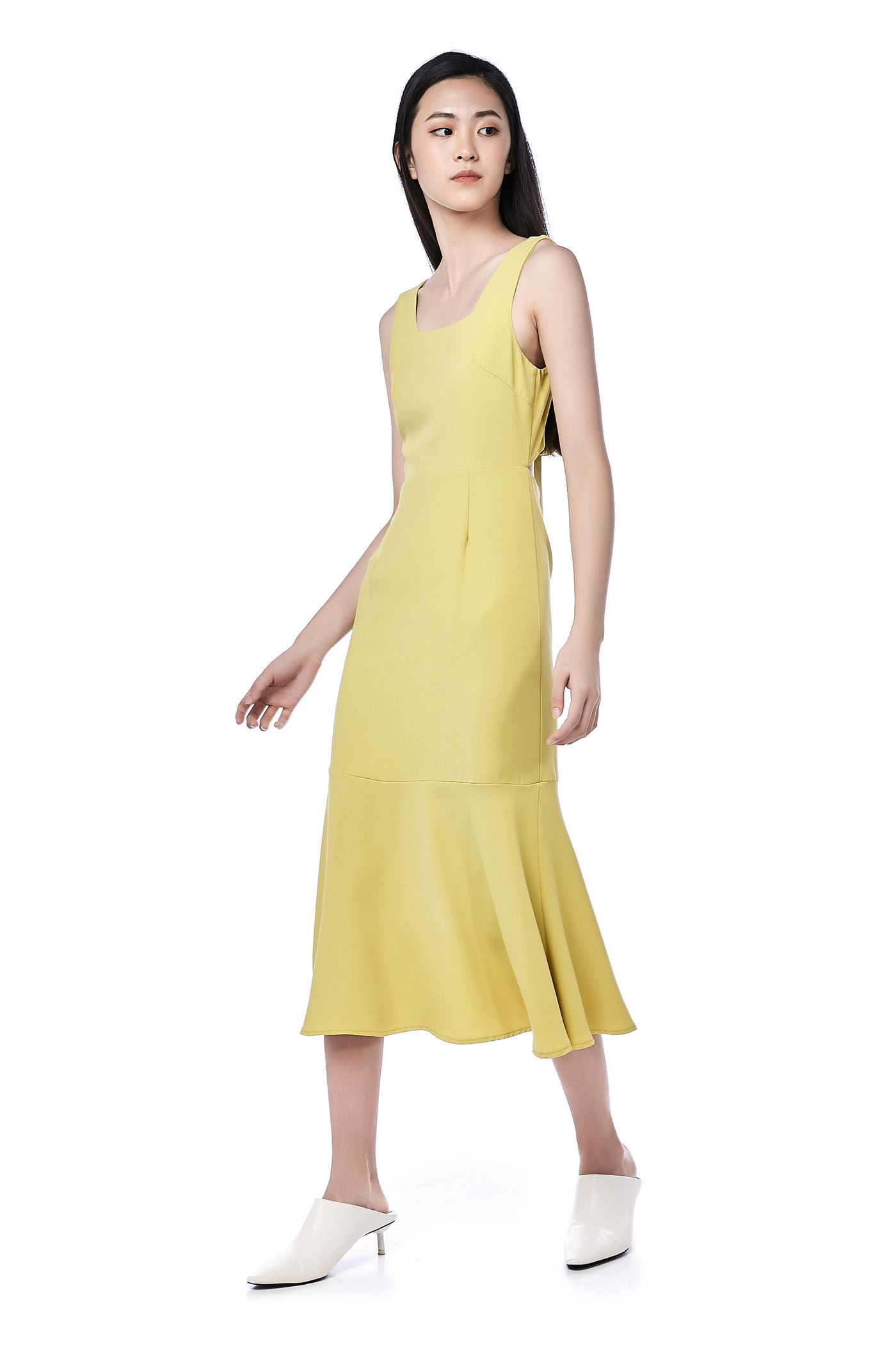 Palma Back-tie Dress