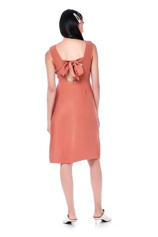 Melissa Back-tie Dress