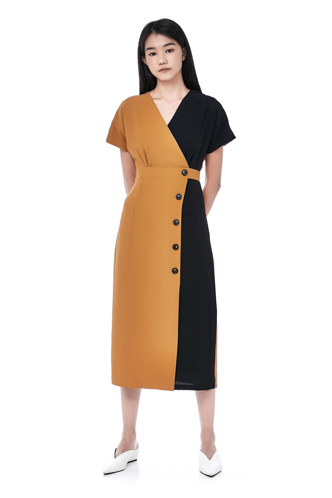 Pouly Overlap Dress
