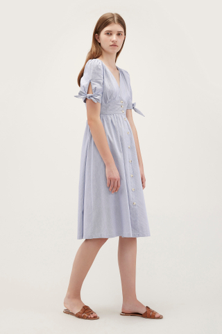 Myla Tie-Sleeve Dress