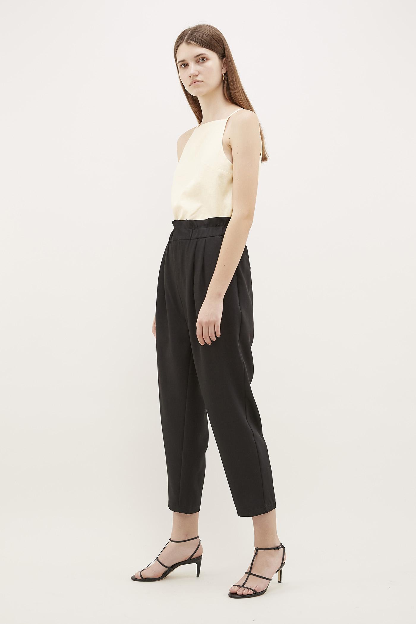 Kensie Gathered-Waist Pants