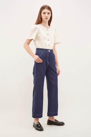 Aslen Top-Stitch Pants