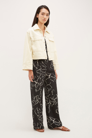 Jessa Top-Stitch Jacket