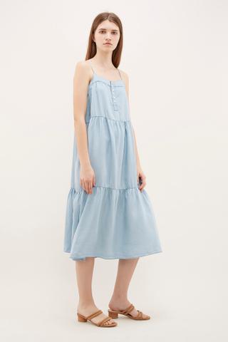 Mirca Tiered Maxi Dress