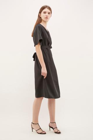 Desia Twist-strap Dress