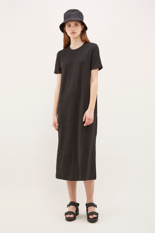 Celmira Ribbed Tee Dress