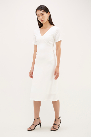 Lumi V-Neck Dress