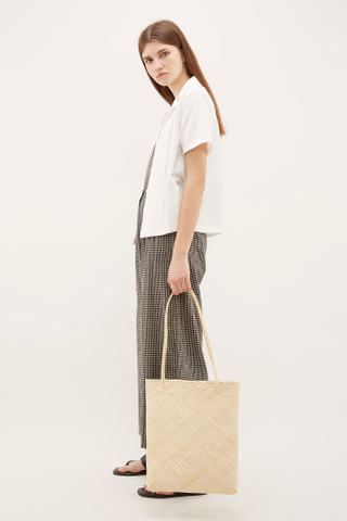 Gwell Wicker Tote