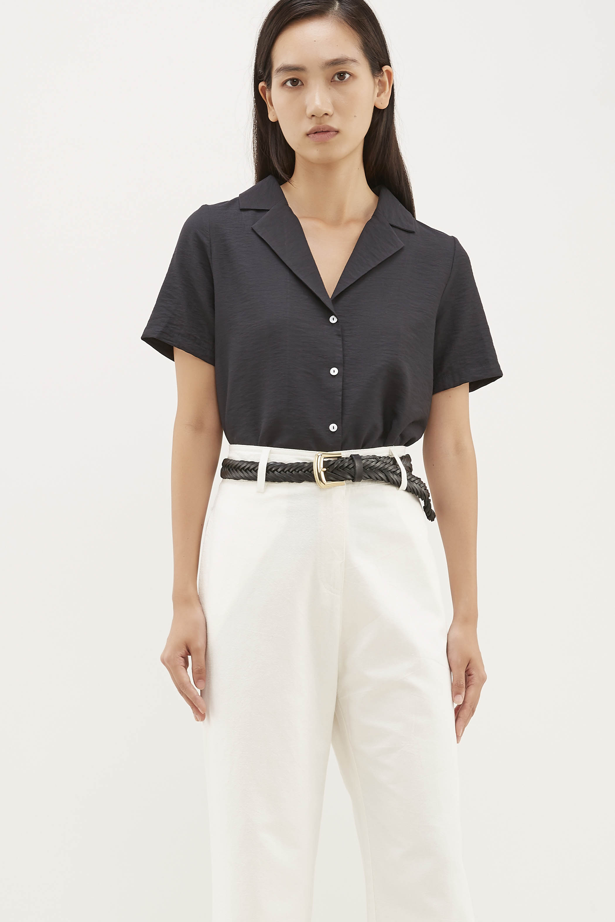 Wrey Collared Blouse