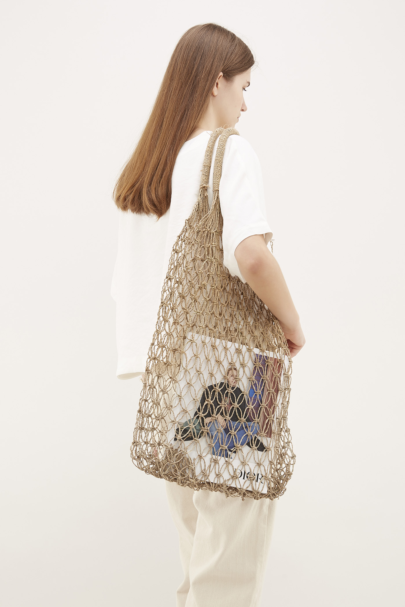 Sia Straw Weave Top-Handle Bag