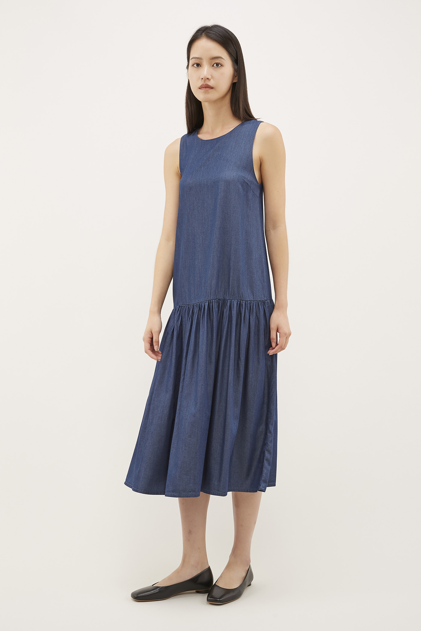 Parish Drop-waist Dress