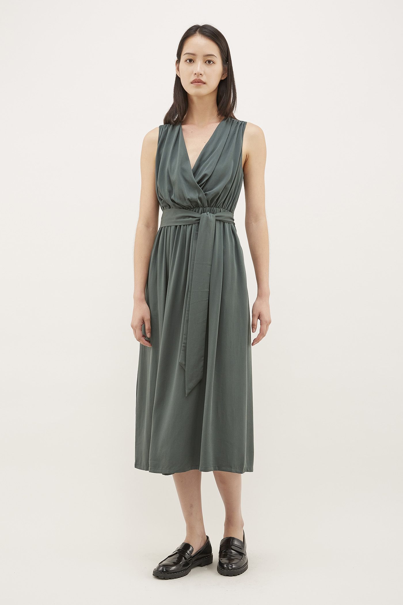 Niabi Cross-front Dress