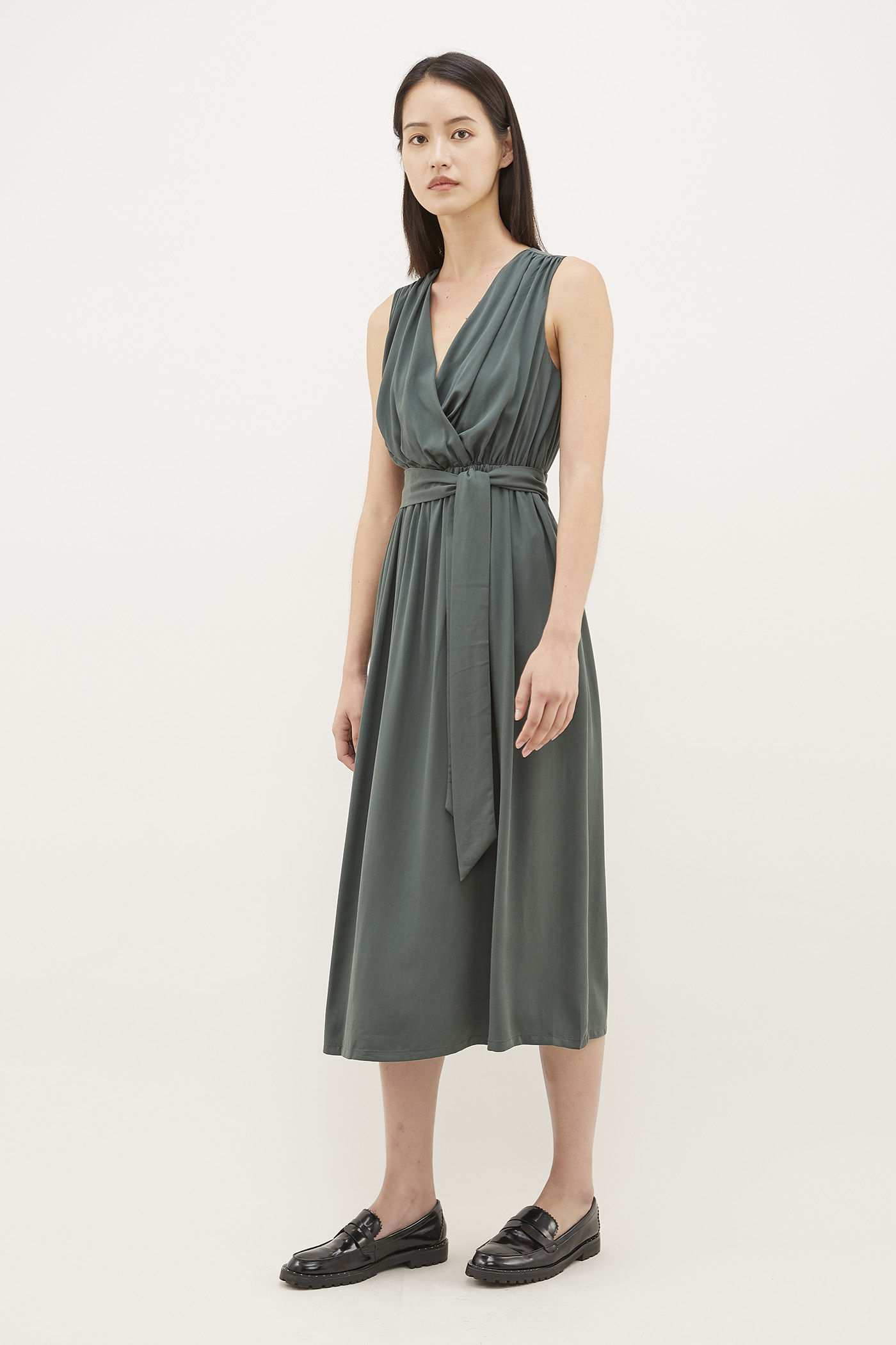 Niabi Cross-front Dress