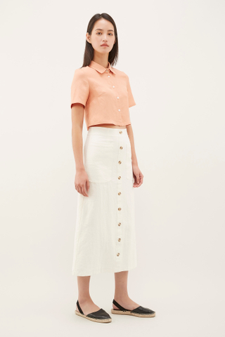 Maira Crop Shirt