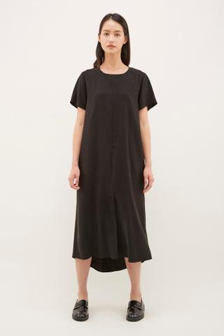 Kase Twist-Back Dress