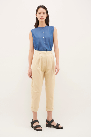 Cerry Button-Down Top