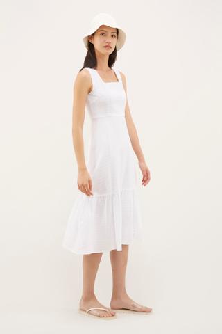 Shae Square-neck Dress