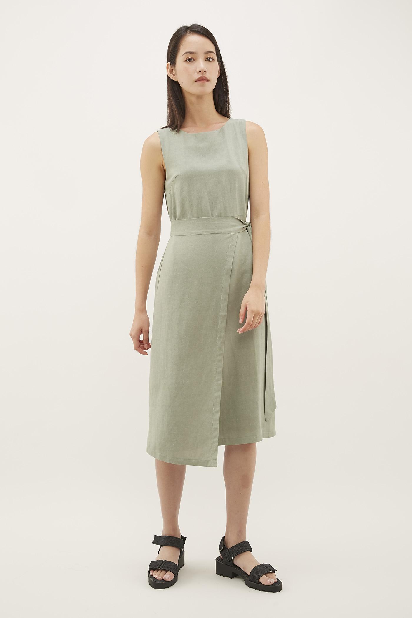 Kahil Wrap Dress