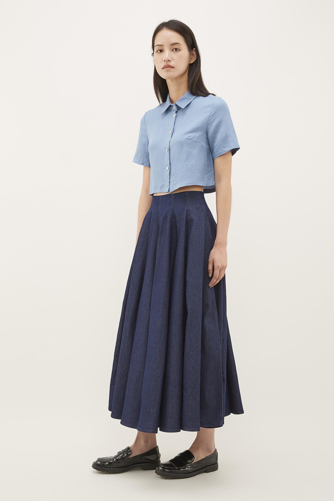 Maira Crop Shirt