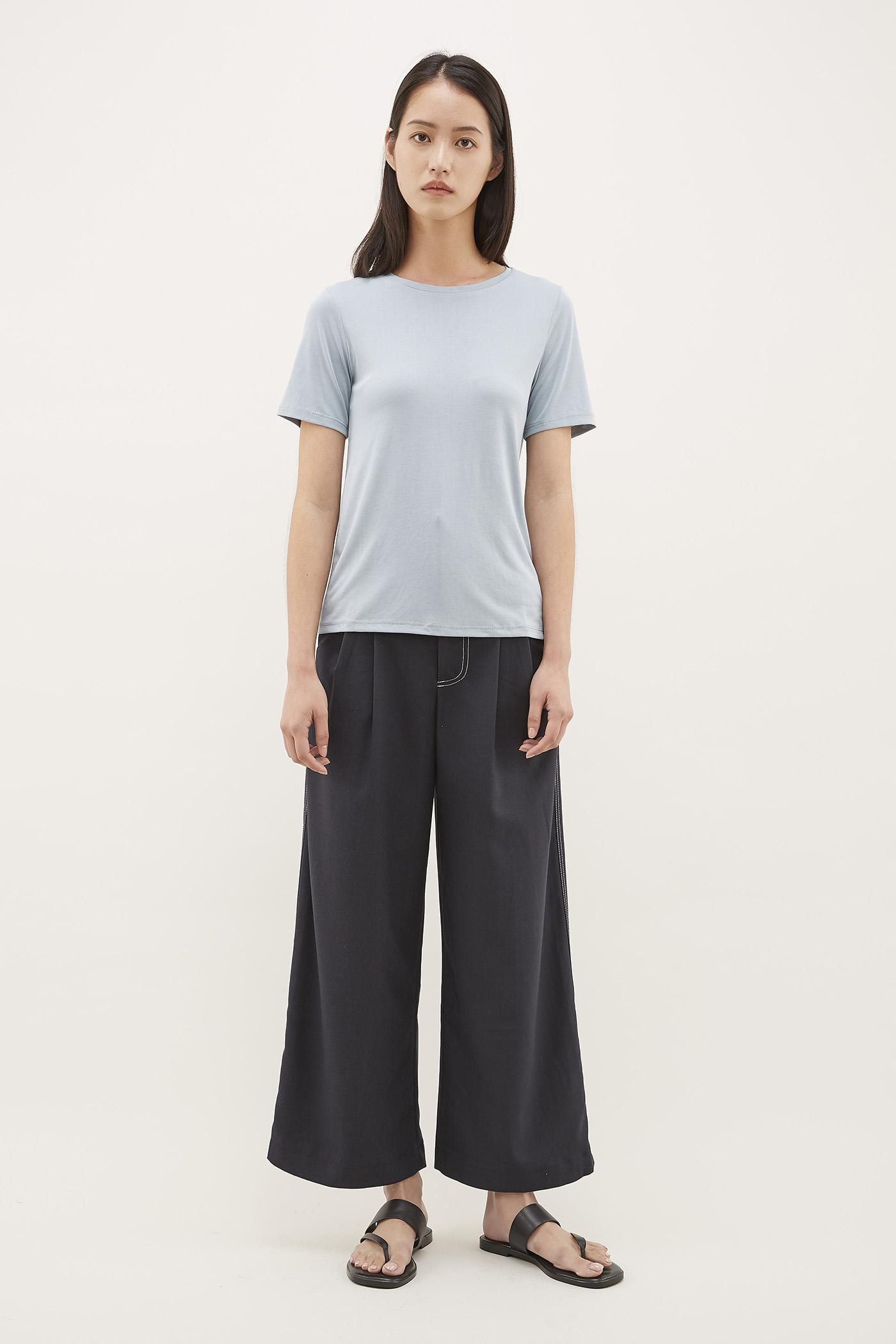 Raysha Top-Stitch Trousers