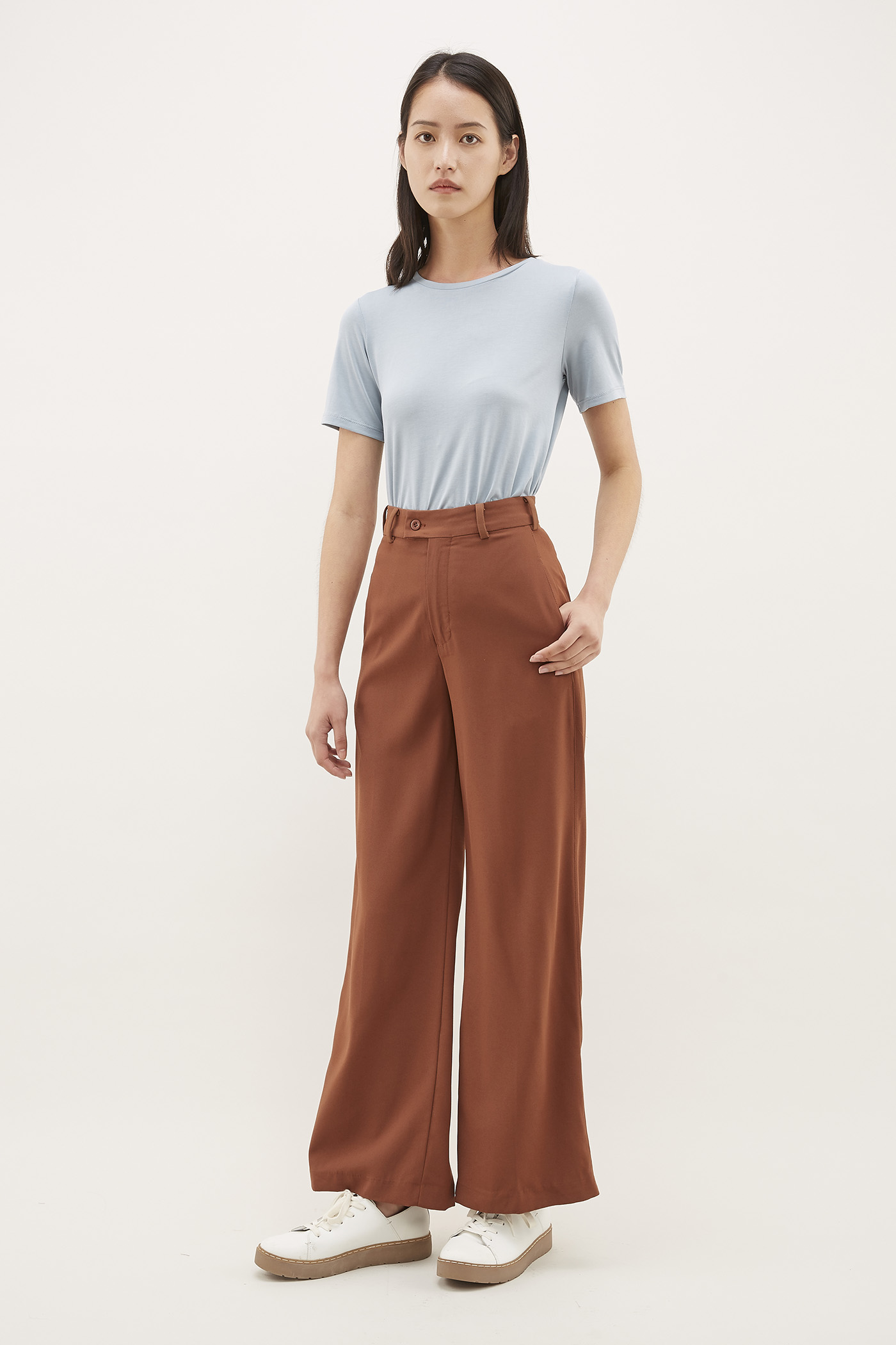 Jokla Wide-Leg Trousers