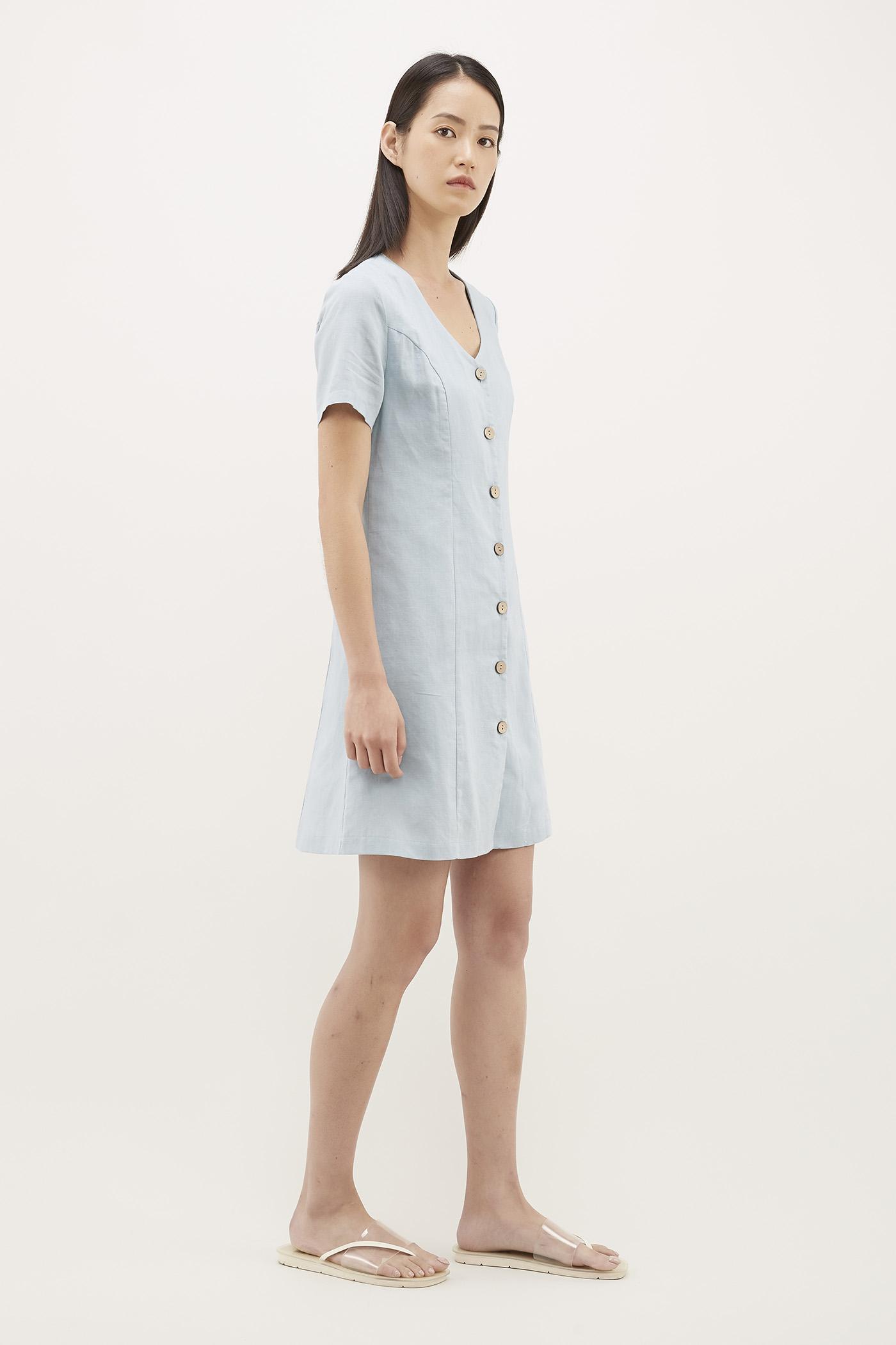 Corelia Button-Through Dress