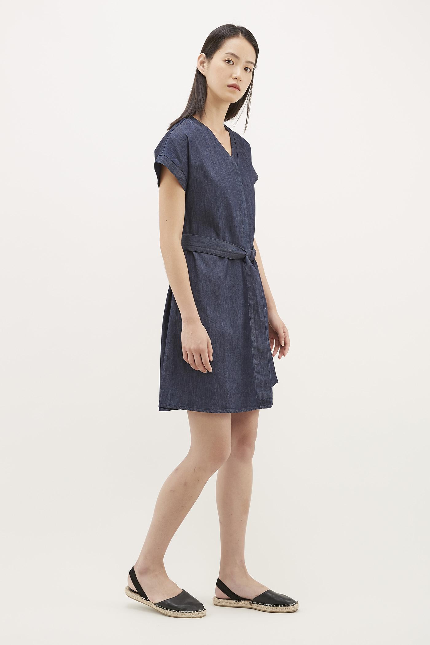 Felin Belted Mini Dress