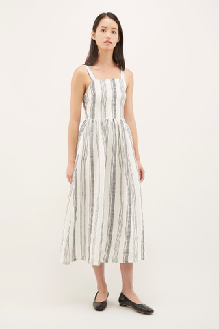 Rowen Square-neck Dress