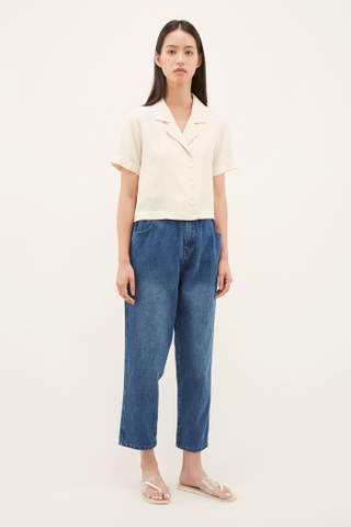 Elgen Cropped Shirt