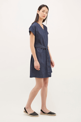 Felin Belted Mini Dress