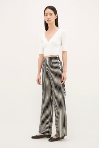 Okara Side-button Pants