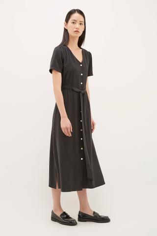 Adeam Gathered-Waist Dress
