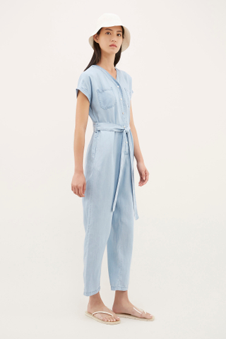 Moeza V-neck Jumpsuit