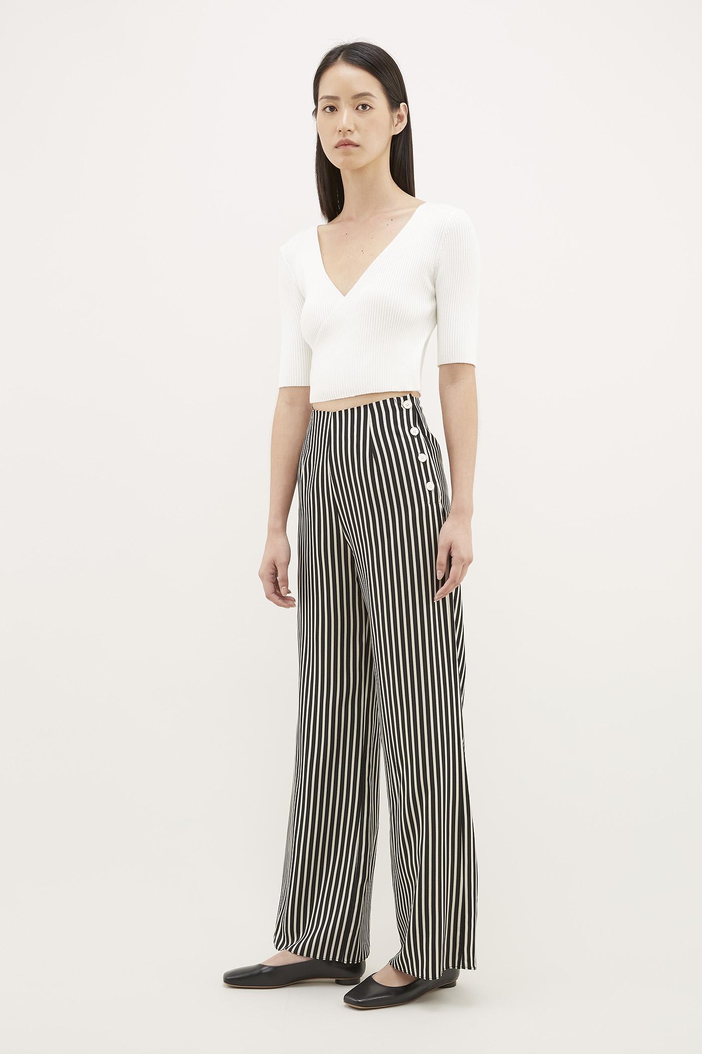 Okara Side-button Pants