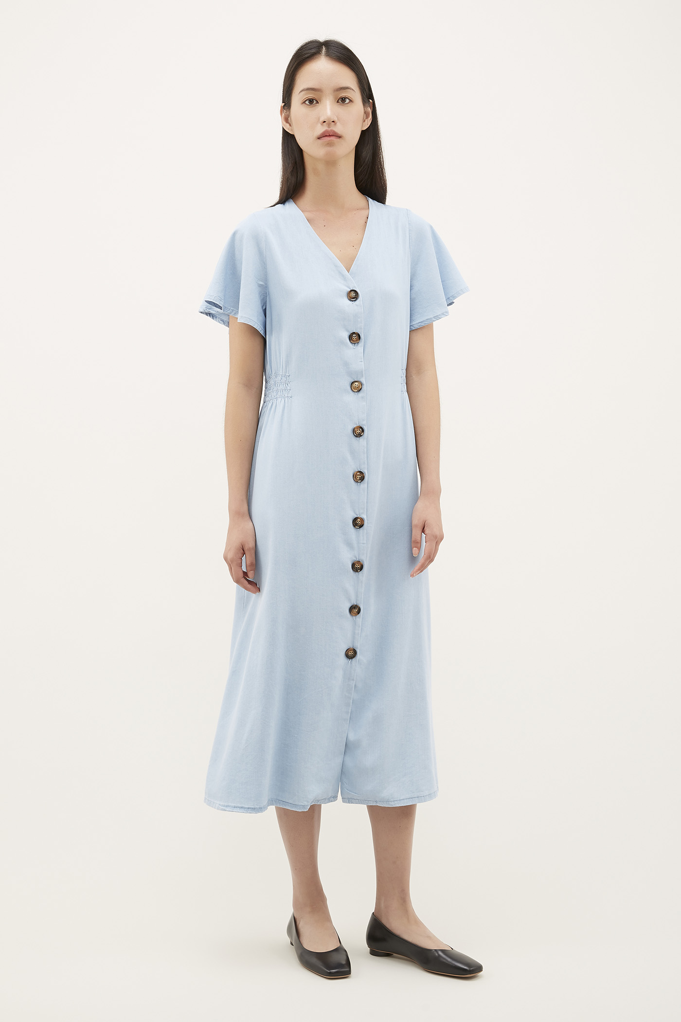 Zerla Fitted-waist Dress